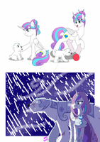 Flurry and Snowball by FallenAngel5414