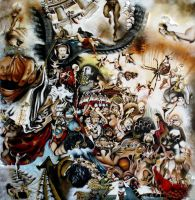 Triumph of Andre Breton and Surrealism by Shahlac
