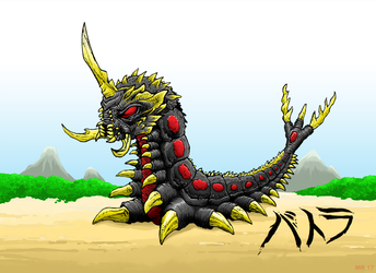 Battra Larva by hawanja