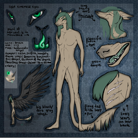 Green reference sheet [OLD!] by Green-EyedGhost