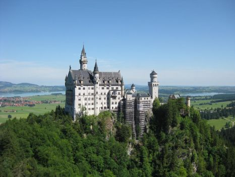 Neuschwanstein Castle by MGfx-stock