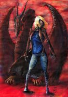 Lady And The Dragon by StereoiD