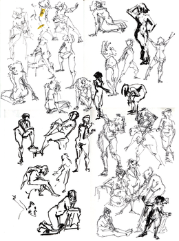 Gesture Stream 03 by sparksel