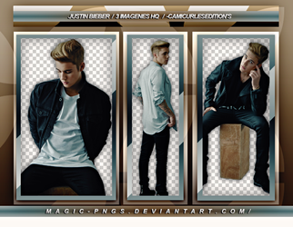 PACK PNG 157| JUSTIN BIEBER by MAGIC-PNGS