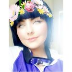 my first Hinata Hyuga cosplay. by cellithemoonchild