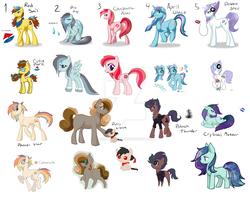 Adopted Ponies by NiviMonster