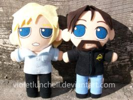 Deadliest Catch plushies by VioletLunchell