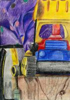 Colored Still life. Drawing II by Jesus-Fishboy