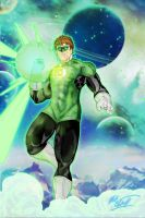 Green Lantern 1 by Mark-Clark-II