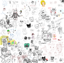 SushiChat [Drawpile Night] (3/24/18) by Sushirolled