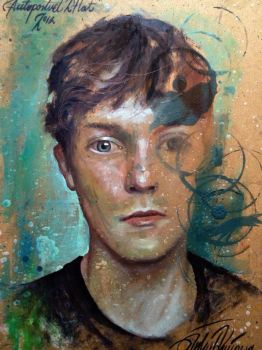 Selfportrait - age 27 by nailone