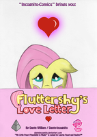 COMIC - ''Fluttershy's Love Letter'' - Cover by DanteIncognito