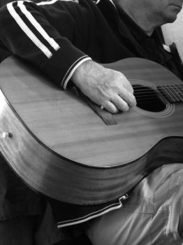 while my guitar gently weeps. by laurengee