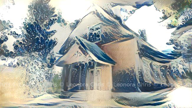 Wintry House by LeonoraChris