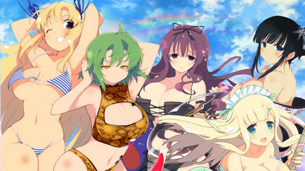 Senran Kagura Wallpaper by zsuetam2000