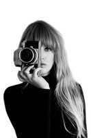 Girl with Camera PNG 001 by lydiammartin