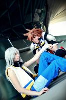 You know the truth, Sora... by RoteMamba