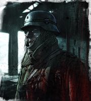 Zombie 'outpost 2' by MrLeeCarter
