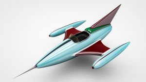 Toy Jet (C4D Projectfile included) by NIKOMEDIA