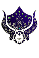 WARFRAME Lotus - Tribal Helmet by RazulDarkwood