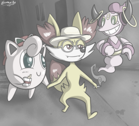 THE ABSOLUTE MAD PHOX by ecumsille