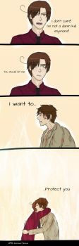 Just let me- by APH-Lovino-sama