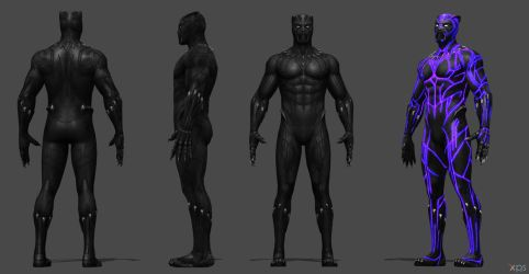 Black Panther (Movie) FF by SSingh511