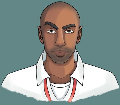 Style Practice: Left 4 Dead - Louis by SugarpuffZombie