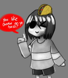 Taco Core Frisk by AnimeRulesAlot