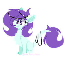 | Adopt | Earth Pony (Hybrid) | [Closed] by Candy-AdoptBases