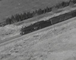 SP 4-6-2 from the air by PRR8157