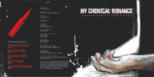 - front cover - MCR cd design by an6el-of-death