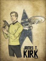 _StarTrek:CaptainKirk_ by SerLuxfero