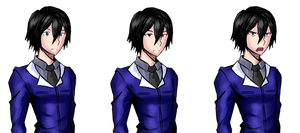 Mordred Wright, Partial Spritesheet by KuroeArt