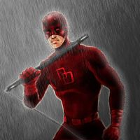 Daredevil (2nd try) by izzathafiz