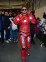 Iron Man cosplay by EgonEagle