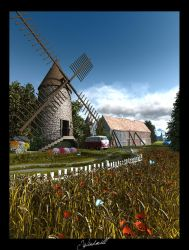 Windmill by c-ramgfx