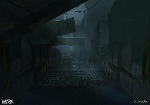 Concept Design for - The Maze Runner by JamesPaick