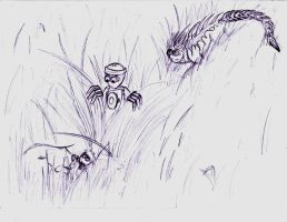 Free sketch: Grasslands by Ludicrous1
