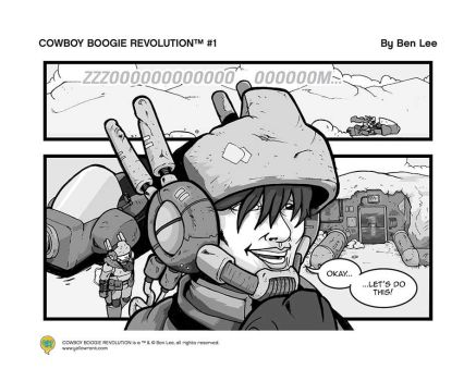 COWBOY BOOGIE REVOLUTION #1 by mangalee412
