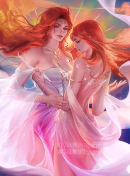 Horoscope series .:Gemini II:. by sakimichan