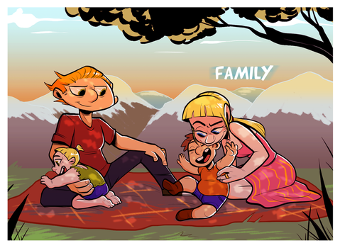 HA - Family by SquirrelTamer