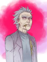Rick Sanchez by Stilletta