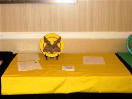 Guild of Messengers Table by kapera