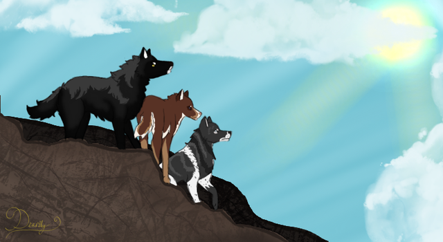 Felvargs: On Top of the World by Deariley