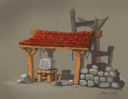 Stonecutters Hut by psykolin