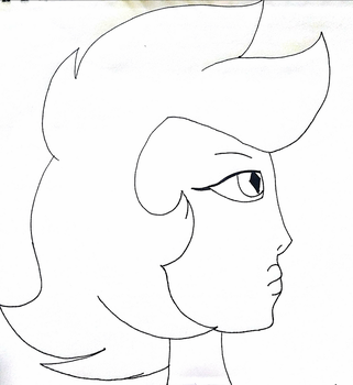 I bet she was pretty (UNCOLORED) by ToughRose12