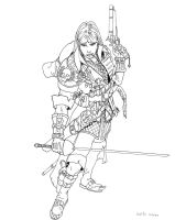 Witch Hunter Inks by DKuang