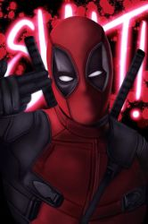 Dead Pool fan art by TRAVELLINGTHEC0SM0S