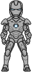 Iron Man Mark II armor by JohnnyMuffintop